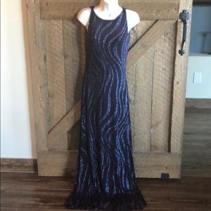 Lillie Rubin evening gown
